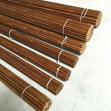 12pcs Archery 84cm 45-50# Bamboo Arrow Shaft Brown No Nock Tonkin Bamboo Shafts