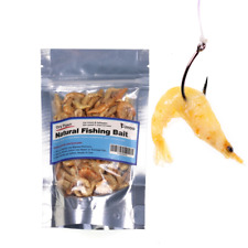 Freeze Dried Pawn Freshwater for Fishing Shrimps Carp Fish Bait Pet Fish Food