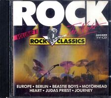 ROCK THE NIGHT Volume 1 (Rock Classics)CD Arcade Come Nuovo Europe Genesis Heart