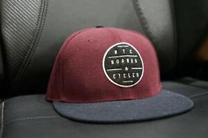 NYC BOARDS & CYCLES SKATEBOARDING Snapback / Baseball Cap / Hat BRAND NEW