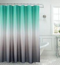 Waffle Shower Curtain Gradient Harmony of Trendy Modern Design Artwork