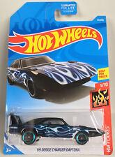 69 Dodge Charger Daytona 2019 Hot Wheels Flames Diecast Car Mattel