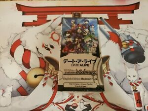 """""""Date A Live"""" Weiss Schwarz English Sealed 20 Pack Booster Box"""