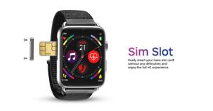 LEMFO LEM10 4G Smart Watch Android 7.1 1.88 Inch 360*320 Screen 3GB + 32GB GPS W