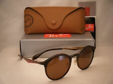 Ray Ban 4277 Emma Matte Havana w Brown Lens NEW sunglasses (RB4277 628373)