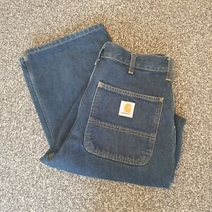 Carhartt Simple Pant Blue Jeans 32x32 32R