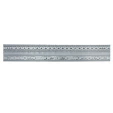 """Incra 10"""" Decimal/mm Stainless Steel Precision Marking Rule"""