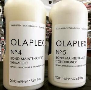 Olaplex No 4 &No 5 Shampoo & Conditioner Pumps Included 2000ml. Brand New Sealed