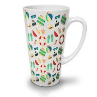 Beach Summer Sea Holiday NEW White Tea Coffee Latte Mug 12 17 oz | Wellcoda