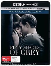 Fifty Shades Of Grey (Unseen Edition) - 4K Ultra HD