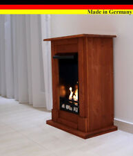 Ethanol Firegel Fireplace Camino Madrid Deluxe Cherry +1 Stainless Steel Burner