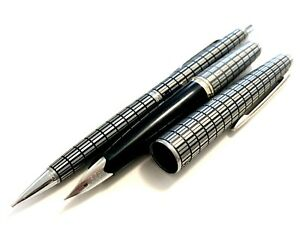 PILOT elite 18K -750 H575 <F> all cross  with mechanical  pen  from Japan