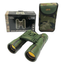 10x Magnification Lightweight Black Binoculars 10x25 Compact Pocket Folding