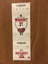 2015 MLB All Star Home Run Derby Workout Day Mint Ticket (7/14) Todd Frazier