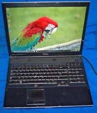 "Item 590 Dell Precision M6400 17"" Q9300 Quad 1.5Tb 8Gb FX3700 1Gb 1920 x 1200"