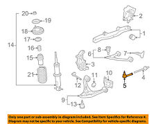 GM OEM Rear Suspension-Outer Tie Rod End 15840473