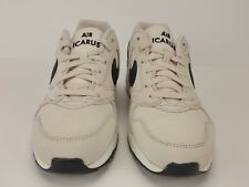 NIKE AIR ICARUS EXTRA QS Mens Size 10 Off White 882019-100 Rare RETRO 90's New