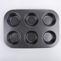 6 Cups Non-stick Muffin Cupcake Pan Mold for Housewife Cake Baking Tool Hot 1pc