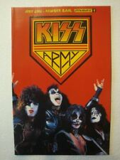 KISS Comic # 2 ~ KISS ARMY PHOTO Variant  Cover G~  ACE Paul PETER Gene Dynamite
