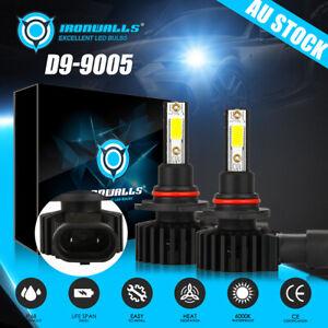 IRONWALLS 9005 HB3 120W LED Headlight Bulbs High Beam 6500K White Driving Lamp