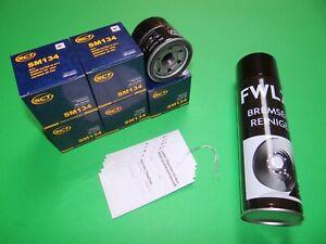 Ölfilter (5x) + Bremsenreiniger Mazda 6 (GJ) 2.0 & 2.5 Benziner (107-141kW)