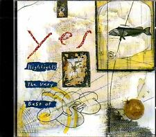CD - YES - Highlights -  the very best of