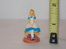 Alice In Wonderland Fairy Garden Dollhouse Miniatures Character Looking Glass