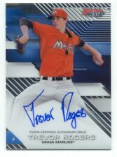 TREVOR ROGERS 2017 Bowman's Best AUTOGRAPH on card AUTO Miami MARLINS