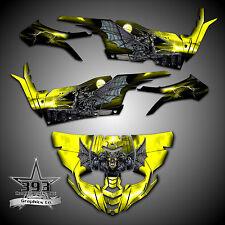 Yamaha YXZ1000R YXZ 1000 R Graphics Kit Wrap Decal Guardian Yellow