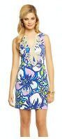 Lilly Pulitzer Janice Knit Shift Dress - Spectrum Blue Catwalk (MSRP $188)