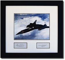 A-12 Oxcart in Flight - Signatures of Ben Rich & Bob Gilliland - Skunkworks