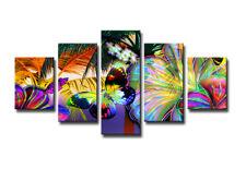 Bild 5 tlg Wald Bild visario MarkenLeinwand 160x80cm XXL Bilder Nr 5555 original