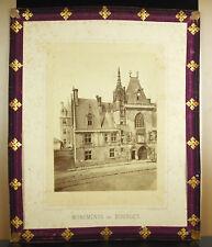 Postal- Bourges Palacio Jacques-Corazón 1870 Fotógrafo Médéric Mieusement