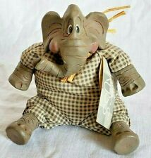 Russ Harry Elephante' elephant the country folks bean bag figurine collectible