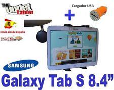 "SOPORTE REPOSACABEZAS TABLET SAMSUNG GALAXY TAB S 8.4"" + Car charger"