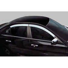 Chrome Window Visors Vent 4p For 2005 2009 Kia Sportage