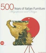 Fachbuch 500 Jahre Italienisches Möbeldesign, tolle Abbildungen, REDUZIERT OVP