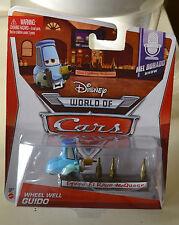 Disney Pixar Cars WHEEL WHEEL GUIDO 2014 Release World of Cars NEW