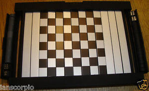 TRAVEL BACK GAMMON/ CHESS/ SOLITAIRE MAGNETIC PIECES