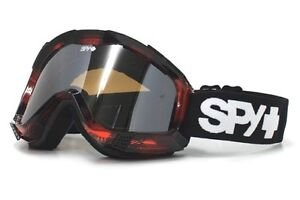 Spy Zed Bunyan W/Persimmon Lentille Tout Neuf Lunettes Neige Ski