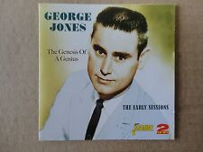 George Jones - The Genesis of a Genius - The Early Sessions - 2 CD set