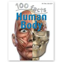 '100 Facts Human Body' by Steve Parker Paperback Book