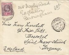 SIERRA LEONE:1906 West Africa Frontier Force envelope used to UK