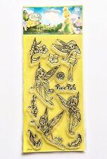 Disney Fairies Clear Acrylic Stamp Set by EK Success DFCS 11 Pieces NEW!
