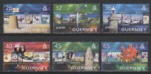Guernsey - 2004, Europa, Holidays set - MNH - SG 1032/7