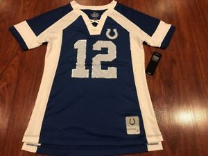 Majestic Women's Andrew Luck Indianapolis Colts Draft Him NFL Jersey Small S