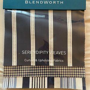 Blendworth - Serendipity Weaves    - Fabric Sample Book