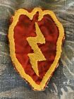 Vietnam War Theater Vietnamese Hand Made Sewn 25th Infantry Army Patch