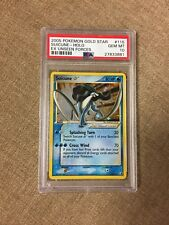 PSA 10 Pokemon Suicune Gold Star Unseen Forces 115/115 Holo Card 2005