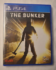 The Bunker Sony Playstation 4 PS4 LR-P38 Limited Run Games #67 New Sealed